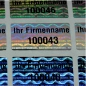 Preview: Hologramm-Sicherheitsetiketten 25 x 15 MM, Neutral oder mit Individualdruck